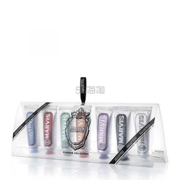 【买3付2】MARVIS 七种口味清新口气洁齿牙膏 7 x 25ml £11(约97元) - 海淘优惠海淘折扣|55海淘网