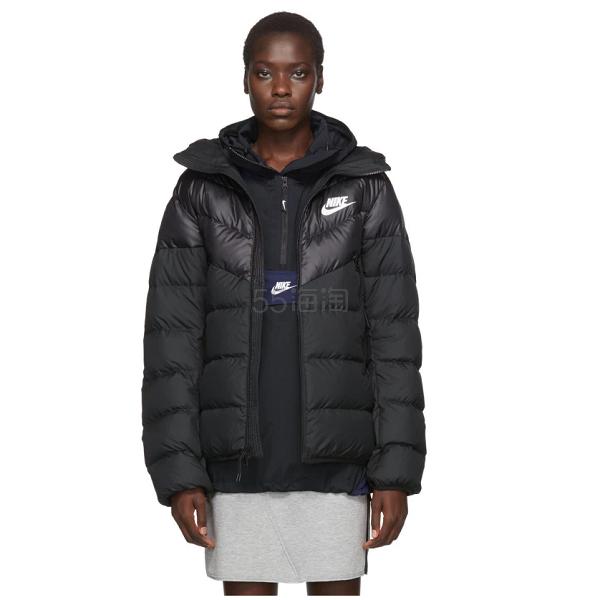 Nike 黑色棉服 5(约1,378元) - 海淘优惠海淘折扣|55海淘网