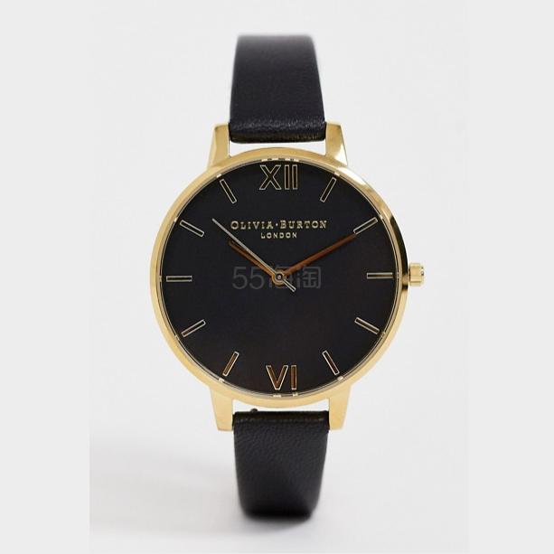 Olivia Burton 黑金配色手表 3(约728元) - 海淘优惠海淘折扣|55海淘网