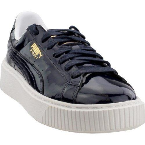 Puma 彪马 Basket 黑白厚底运动鞋 .95(约282元) - 海淘优惠海淘折扣|55海淘网