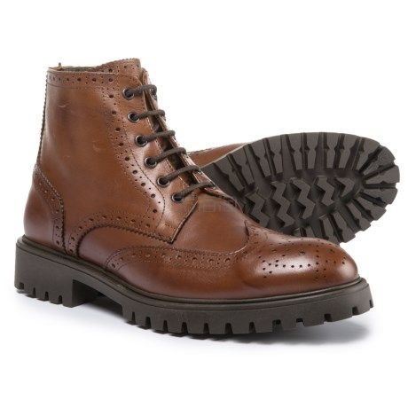 码全双色可选~A. Testoni 铁狮东尼 Diffusion Ankle 男士真皮系带马丁靴 9.99(约1,277元) - 海淘优惠海淘折扣|55海淘网