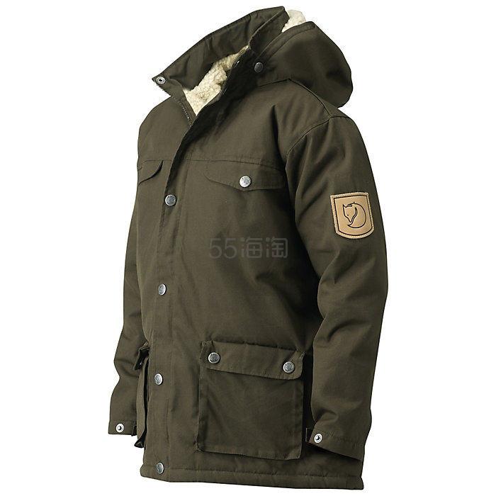 码全!Fjallraven 北极狐 Greenland Winter 童款保暖大衣 .99(约624元) - 海淘优惠海淘折扣|55海淘网
