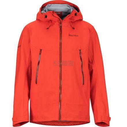 3折!码全!Marmot 土拨鼠 Red Star 男士防水透气冲锋衣 .97(约638元) - 海淘优惠海淘折扣|55海淘网