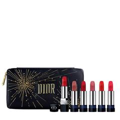 补货+直减$15!Dior 迪奥 圣诞限定唇膏套组