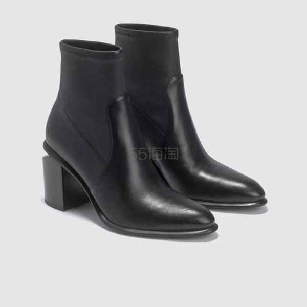 ALEXANDER WANG Anna 高跟短靴 6.5(约3,451元) - 海淘优惠海淘折扣|55海淘网