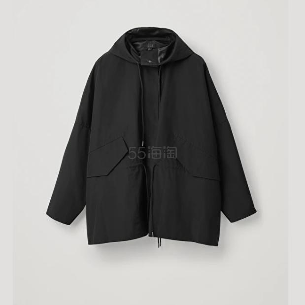 COS 黑色防雨外套 0(约1,348元) - 海淘优惠海淘折扣|55海淘网