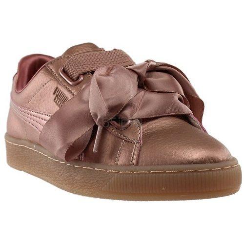 Puma 彪马 Basket 玫瑰铜色蝴蝶结运动鞋
