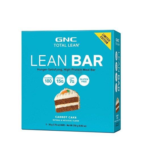 GNC 健安喜 Total Lean™ 蛋白膳食能量棒 胡萝卜蛋糕味 .99(约42元) - 海淘优惠海淘折扣 55海淘网