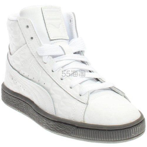 Puma 彪马 Basket Classic 白色中帮运动鞋 男童款 .97(约142元) - 海淘优惠海淘折扣 55海淘网