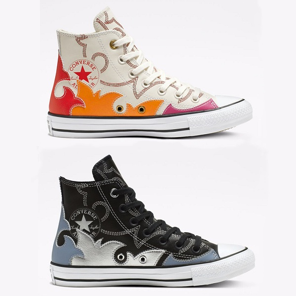 两色可选!Converse 匡威 All Star Space Cowgirl 高帮帆布鞋