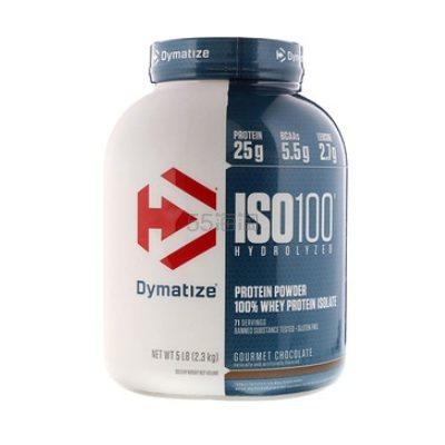 【1件0税免邮】Dymatize Nutrition ISO100水解 100%乳清分离蛋白 2.3kg .7(约502元) - 海淘优惠海淘折扣|55海淘网