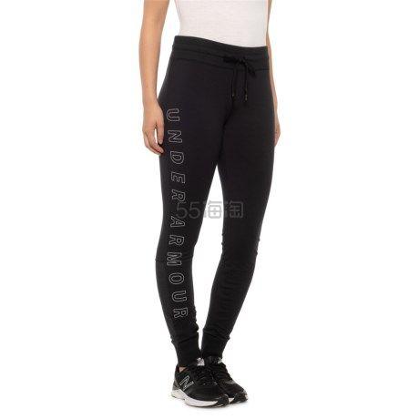 码全!Under Armour 安德玛 Favorite Joggers 女士慢跑长裤 .99(约142元) - 海淘优惠海淘折扣|55海淘网