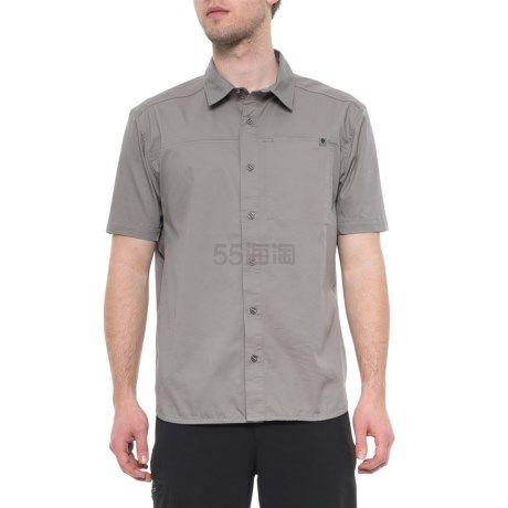 限尺码!Black Diamond 黑钻 Nickel Stretch Operator 男款短袖衬衫 (约156元) - 海淘优惠海淘折扣|55海淘网