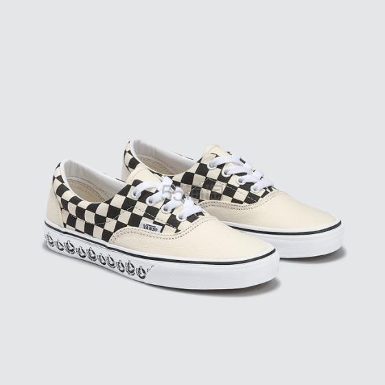 VANS Era 白色底格纹涂鸦鞋款板鞋 .1(约313元) - 海淘优惠海淘折扣 55海淘网
