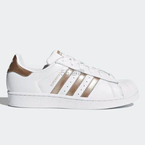 adidas Originals 三叶草 Superstar 女子板鞋 (约284元) - 海淘优惠海淘折扣|55海淘网