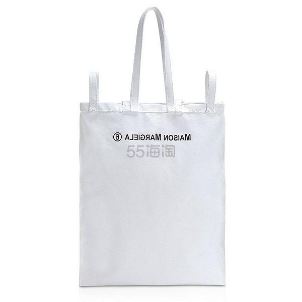 MM6 MAISON MARTIN MARGIELA logo手提袋 €149.4(约1,171元) - 海淘优惠海淘折扣|55海淘网