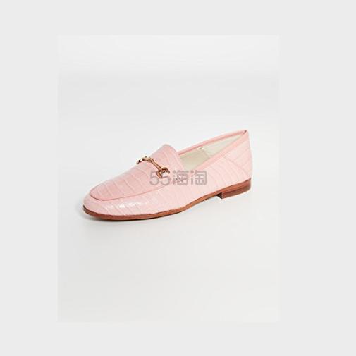 【码全】Sam Edelman Loraine 粉色平跟船鞋 (约695元) - 海淘优惠海淘折扣 55海淘网