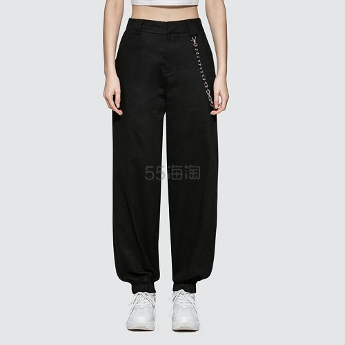 I.AM.GIA 黑色工装裤 (约546元) - 海淘优惠海淘折扣 55海淘网