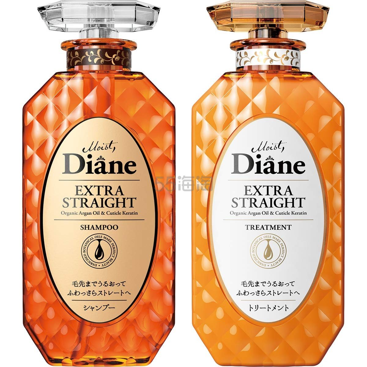 新低价!【中亚Prime会员】Moist Diane 无硅保湿修复洗护套装 洗发水 450ml+护发素 450ml 到手价61元 - 海淘优惠海淘折扣|55海淘网