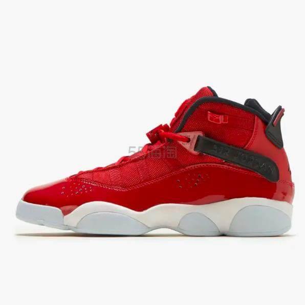 乔丹 Air Jordan 6 Rings 大童款篮球鞋 .95(约638元) - 海淘优惠海淘折扣|55海淘网