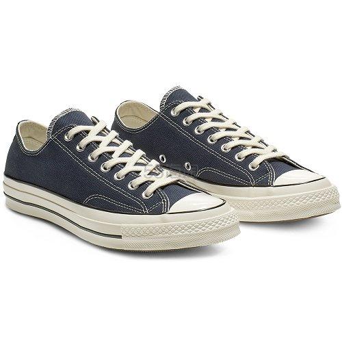 Converse 匡威 Chuck 70 蓝黑色低帮帆布鞋 £52(约460元) - 海淘优惠海淘折扣|55海淘网