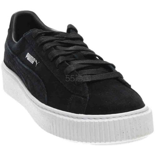 Puma 彪马 Suede 黑色麂皮绒运动鞋 .95(约212元) - 海淘优惠海淘折扣|55海淘网