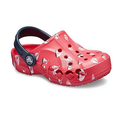 Crocs 卡骆驰 Baya Printed 儿童印花洞洞鞋