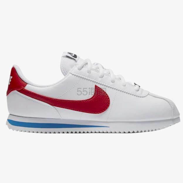 【额外7.5折】Nike 耐克 Cortez 红白蓝阿甘鞋 大童 (约316元) - 海淘优惠海淘折扣|55海淘网