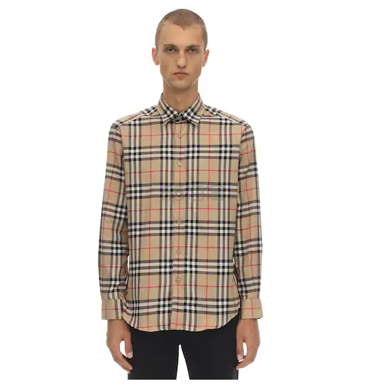 【凑单推荐】BURBERRY 标准版型 ARCHIVE 格纹纯棉衬衫 €380(约2,960元) - 海淘优惠海淘折扣|55海淘网