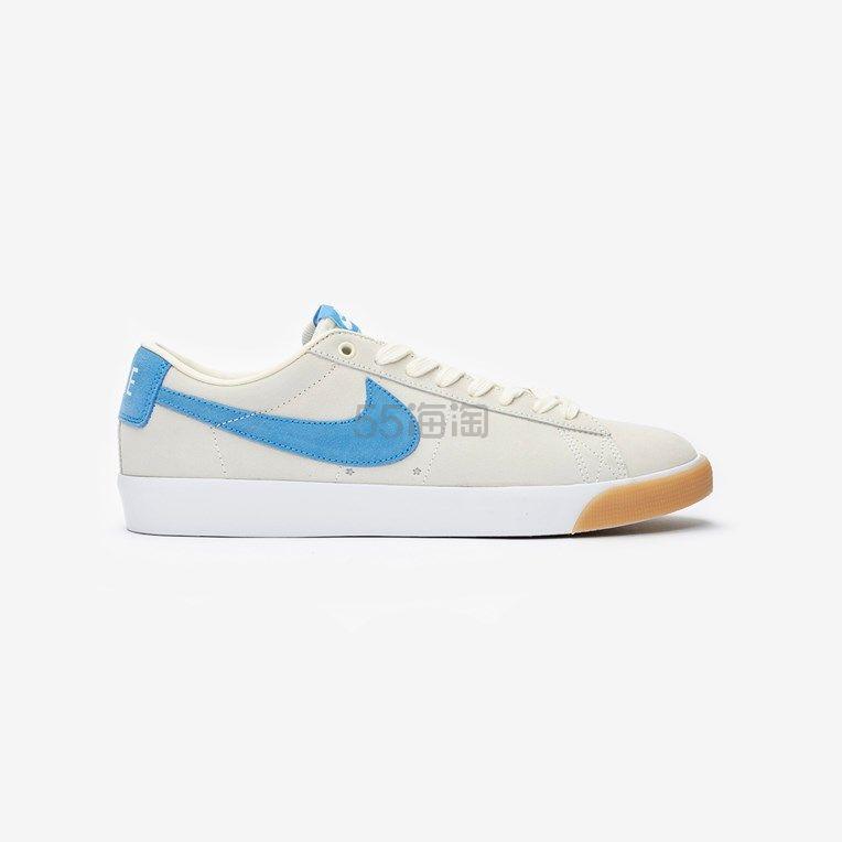 Nike SB Blazer 低帮蓝色 SWOOSH 运动鞋