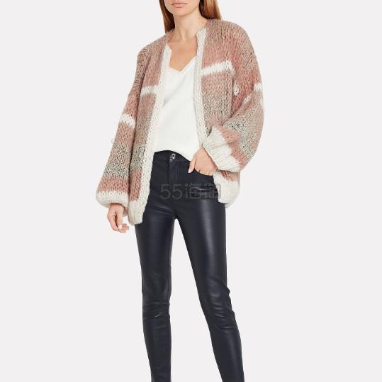 Maiami 手工编织羊毛拼色针织开衫 2.75(约3,723元) - 海淘优惠海淘折扣 55海淘网