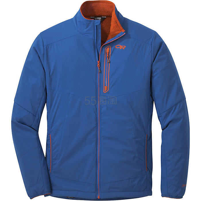 限尺码!Outdoor Research Ascendant 男款户外保暖夹克 蓝色 .99(约563元) - 海淘优惠海淘折扣|55海淘网