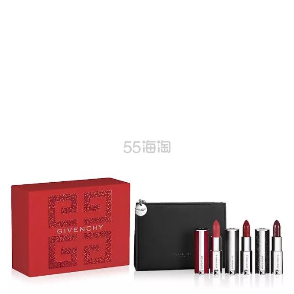 上新!Givenchy 纪梵希 19年限定小羊皮唇膏套组 4(约815元) - 海淘优惠海淘折扣|55海淘网