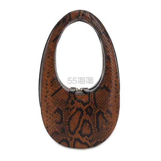 COPERNI 迷你SWIPE蟒蛇纹印花皮革手提包 8.8(约2,922元) - 海淘优惠海淘折扣|55海淘网