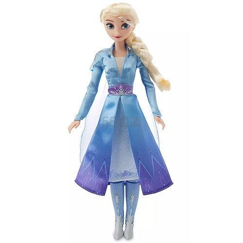 新款!Disney 迪士尼 《冰雪奇缘》 Elsa 艾莎 唱歌娃娃