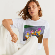 MANGO Simpsons t-shirt 辛普森印花T恤