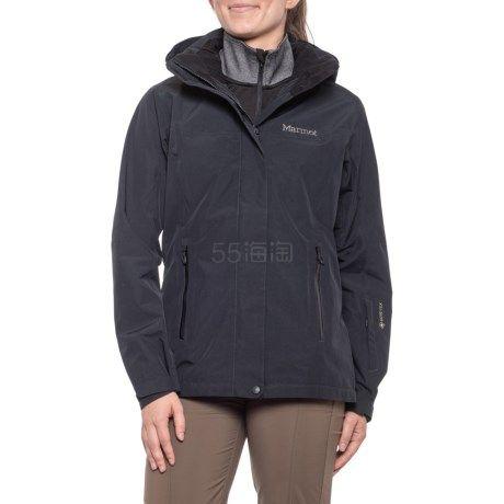 碼全雙色可選~Marmot 土撥鼠 Palisades Gore-Tex 女士滑雪沖鋒衣 9.99(約1,286元) - 海淘優惠海淘折扣|55海淘網