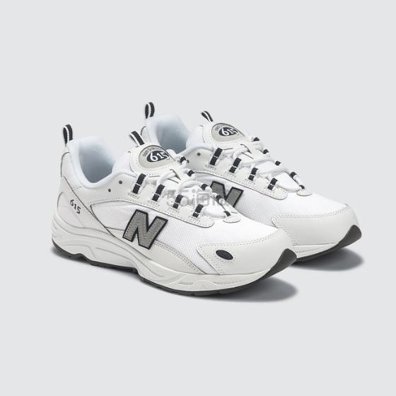 【金元中同款】NEW BALANCE 615 白色女士运动鞋