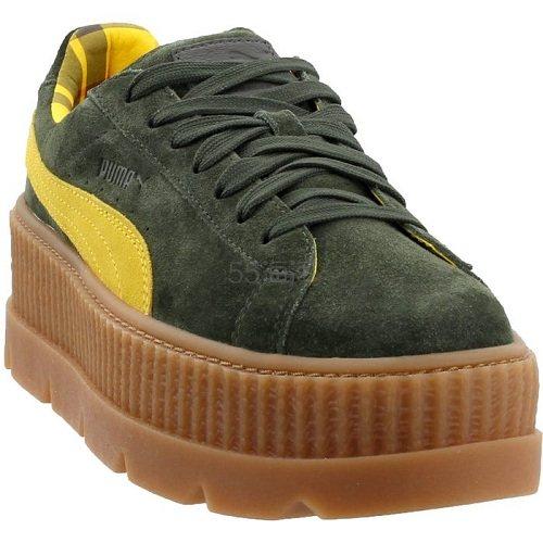 Puma 彪马 Fenty 墨绿色厚底鞋 .95(约242元) - 海淘优惠海淘折扣|55海淘网