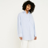 仅剩L码!MM6 Double Layer Poplin Tunic Shirt 分解衬衫