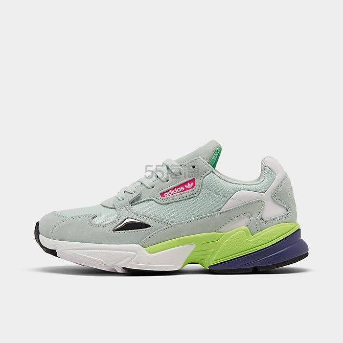 【限时超高返利】adidas 阿迪 Falcon 女子拼色老爹鞋