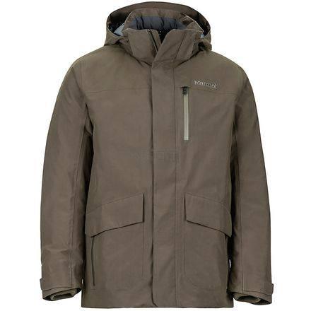 限尺码!Marmot 土拨鼠 Yorktown Featherless 男士 MemBrain 防水保暖夹克 9.98(约1,283元) - 海淘优惠海淘折扣|55海淘网