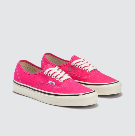 VANS Authentic 44 DX 荧光粉色板鞋