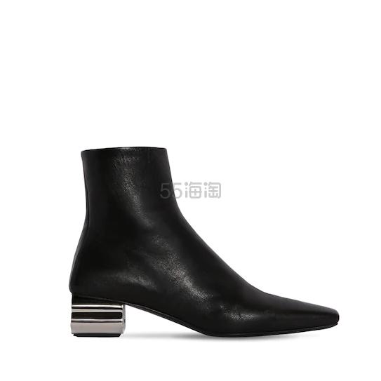 "BALENCIAGA 50毫米""TYPO""皮革踝靴"