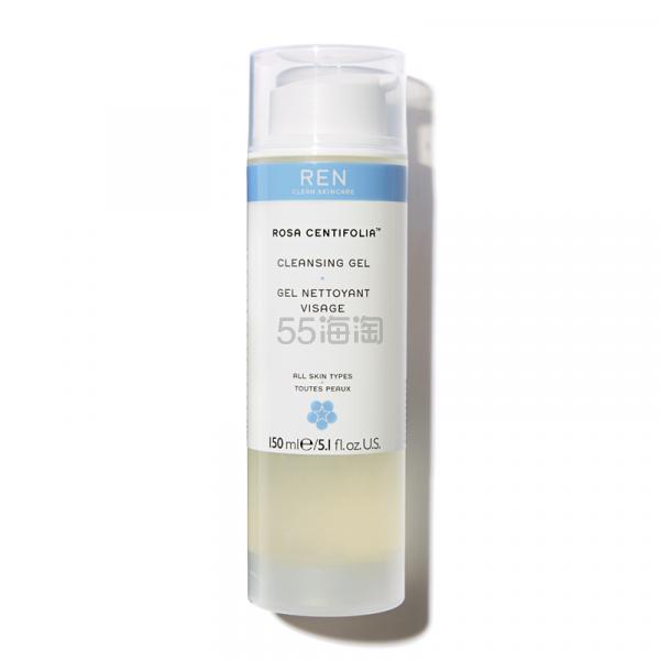 REN Clean Skincare 玫瑰蔷薇卸妆洁面啫喱 150ml 孕妇/敏感肌可用 £14.4(约131元) - 海淘优惠海淘折扣|55海淘网