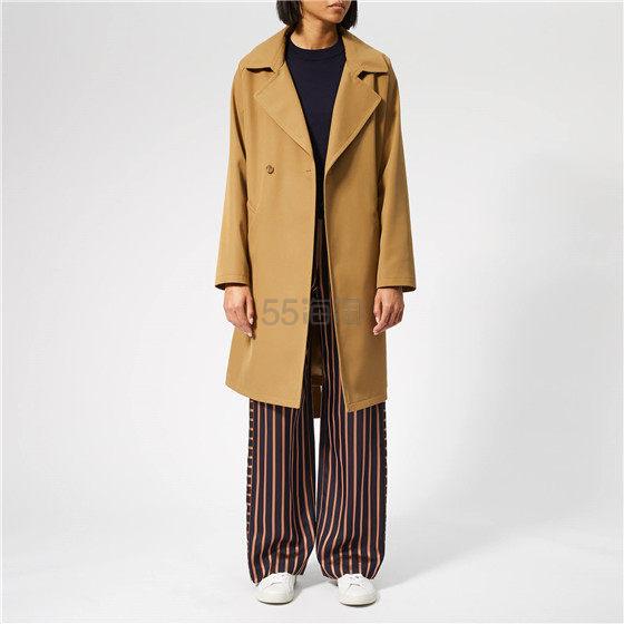 A.P.C. 女士羊毛腰带中长款大衣 ¥983.84 - 海淘优惠海淘折扣|55海淘网