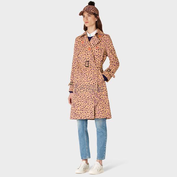 Paul Smith Tan Cheetah Print 豹纹风衣 £595(约5,186元) - 海淘优惠海淘折扣|55海淘网