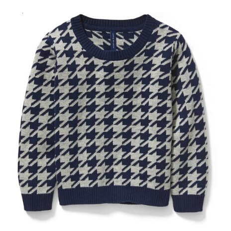 Janie and Jack HOUNDSTOOTH PULLOVER 童款毛衣