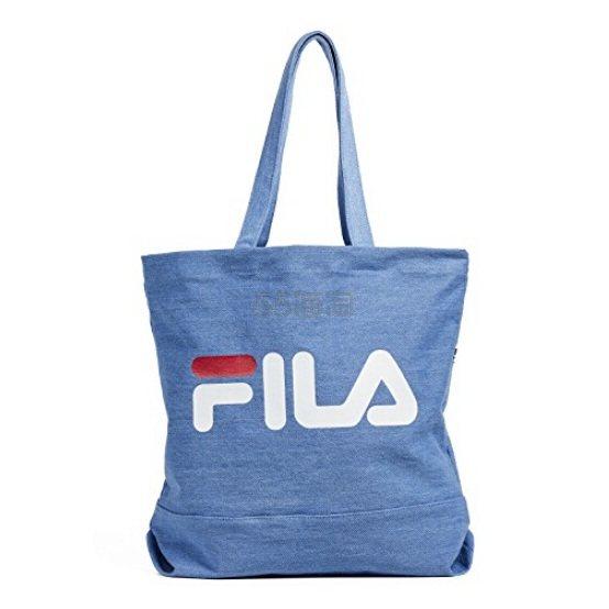 Fila 蓝色帆布手提袋 (约213元) - 海淘优惠海淘折扣|55海淘网