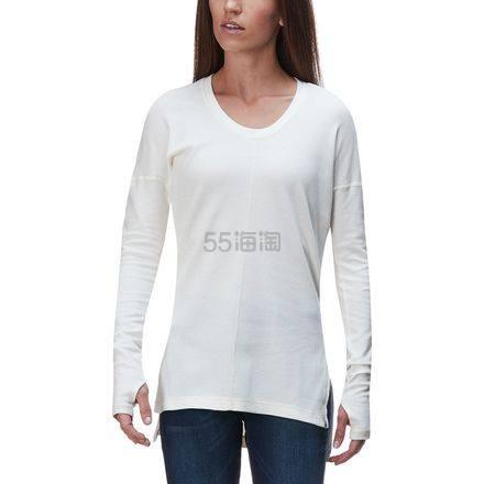 限尺码!Mountain Hardwear 山浩 EDP Waffle 女士长袖基础款T恤 .97(约199元) - 海淘优惠海淘折扣|55海淘网
